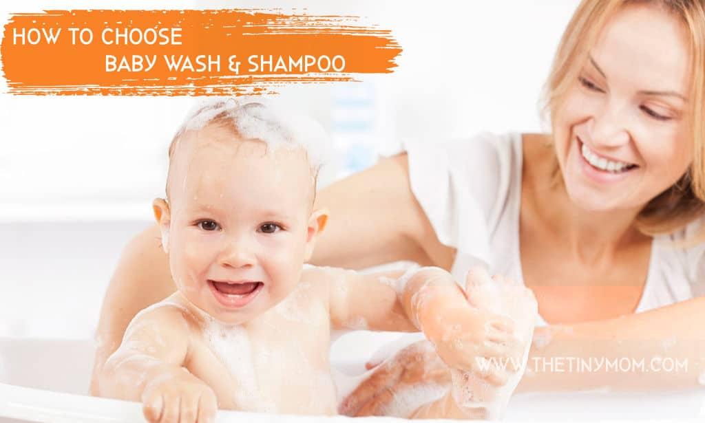 how to choose baby wash shampoo
