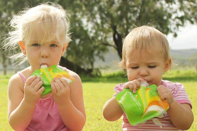 Reusable Food Pouches for Babies