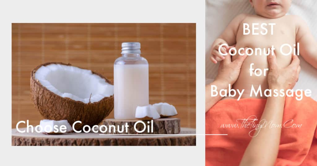 best coconut oil for baby massage
