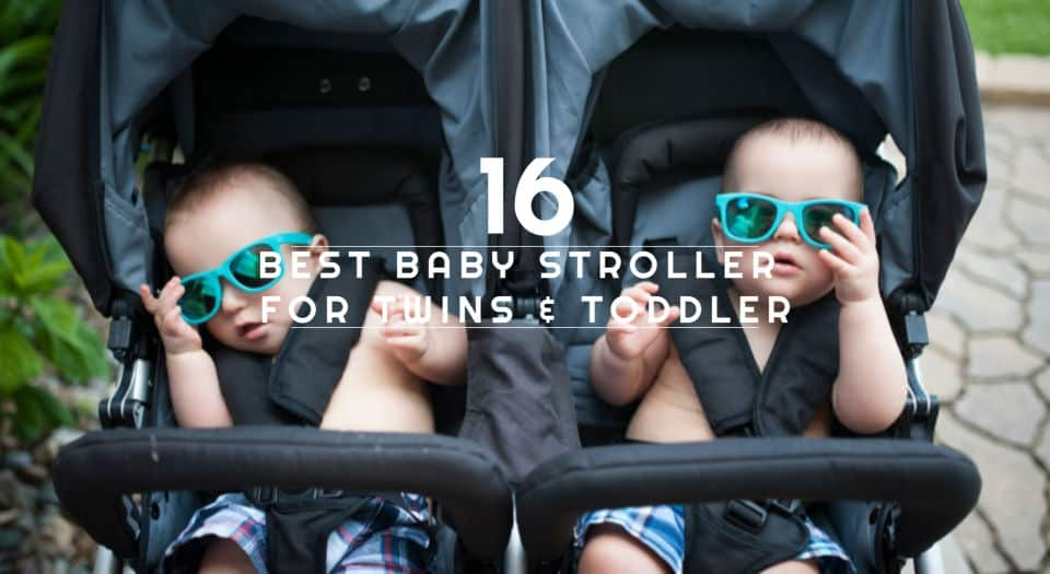 best baby stroller for twins - toddler