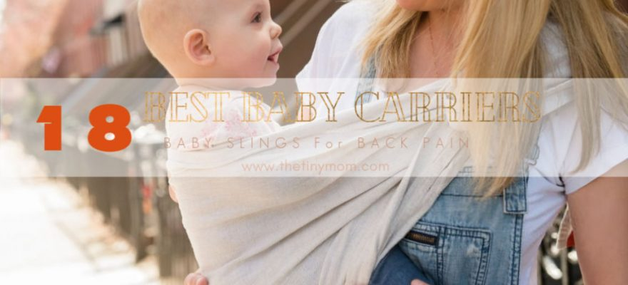 The 16 Best Baby Carriers and Slings for Back Pain