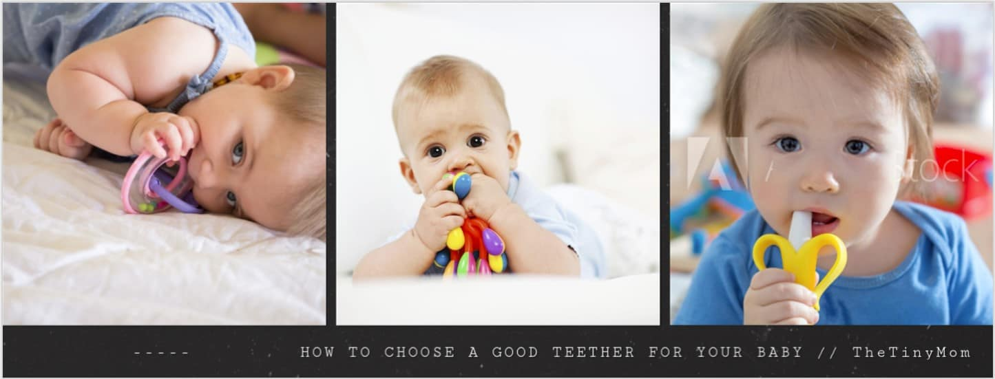 how to choose best teether for baby