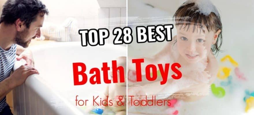 The 28 Best Bath Toys for Kids & Toddlers Review & Guide 2020