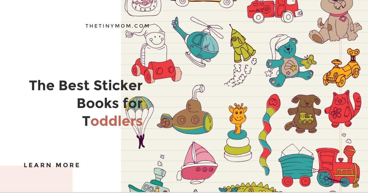 best sticker books for toddlers
