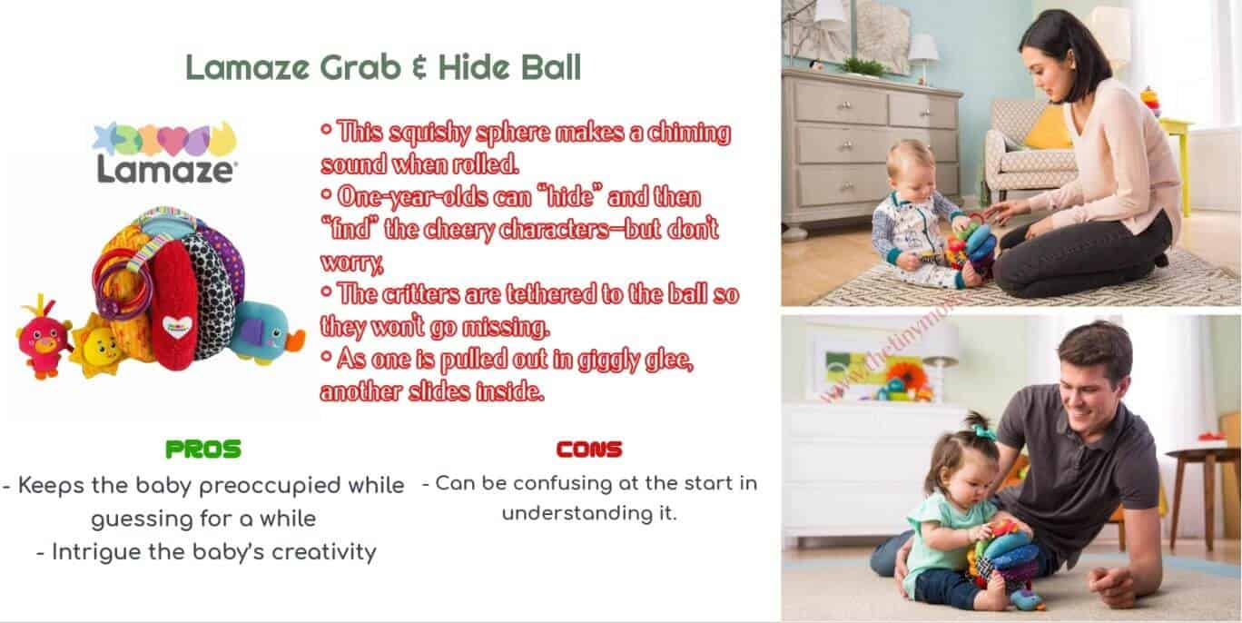Lamaze Grab - Best Gifts for 1-Year-Olds