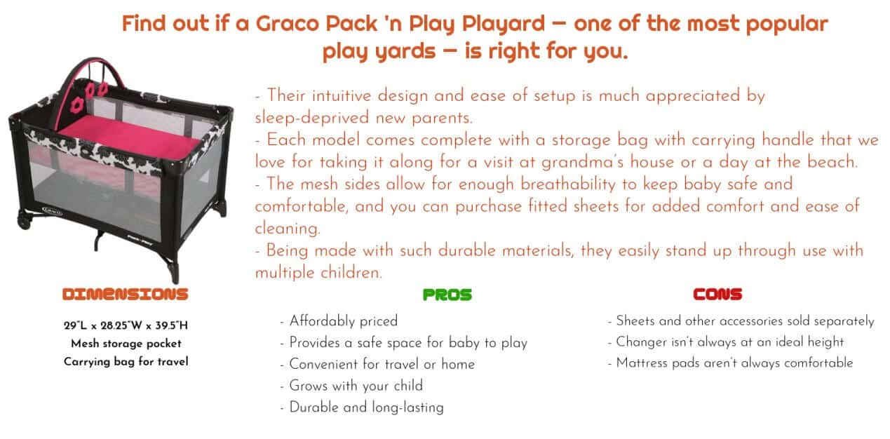 graco pack play playard- best gift for baby